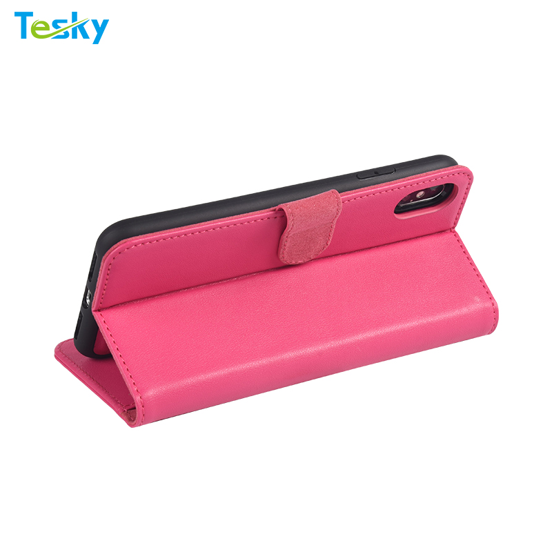 Factory OEM Wholesale High-quality detachable Leather phone case for iPhone XS Max