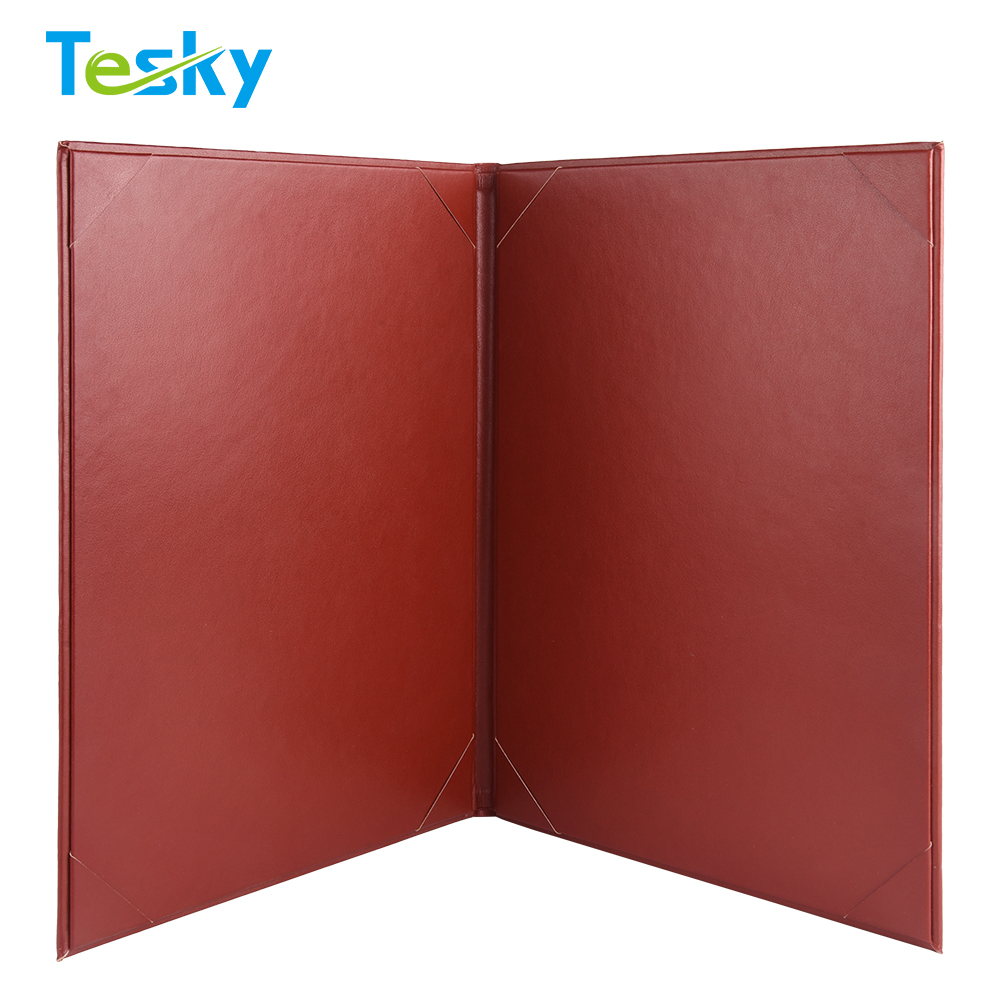 Factory OEM Wholesale Cheap Price Diploma Holder Leather Paper Graduation Certificate Holder