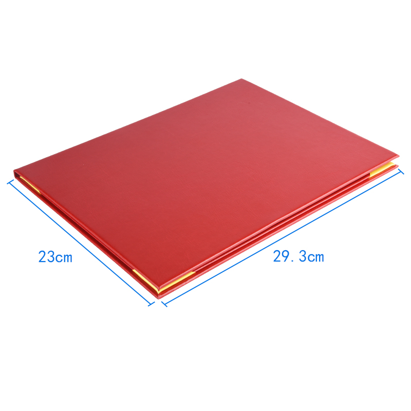 Factory OEM Wholesale Cheap Price Diploma Fold Leather Paper Graduation Certificate Cover