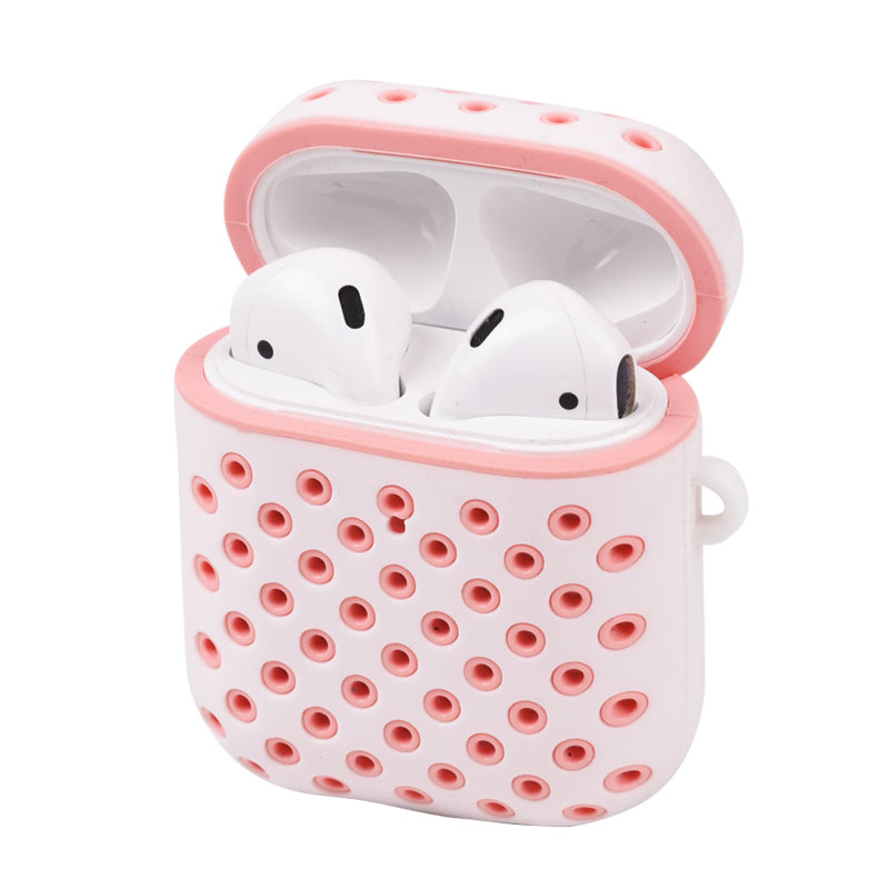 Shockproof Drop Proof Anti-Lost Earphone Accessories For Apple Airpods Silicone Case